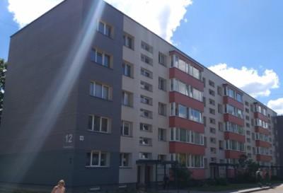 Finišas Kosmonautų g. 12 daugiabučio namo renovacijoje