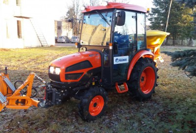 Patikimas ir ekonomiškas KIOTI mini traktorius jau  Jonavoje.